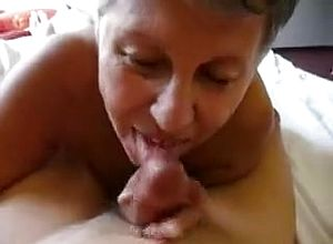 Straight,grannies,blowjob,facial