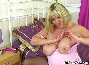 British,granny,milf,matures,hardcore,sex toys,fetish,nylons