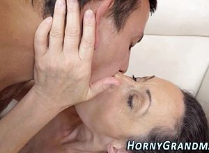 Facial,grannies,mature