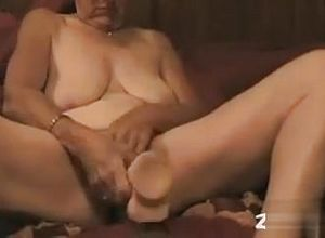 Straight,solo,grannies,toys,masturbation