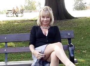 Straight,blonde,outdoor,grannies,non nude
