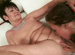 Matures,granny,cougar,licking