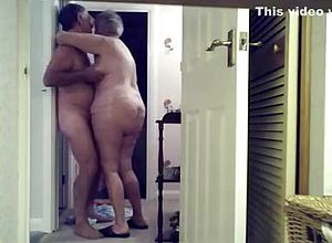 Straight,grannies,couple,hidden Cams